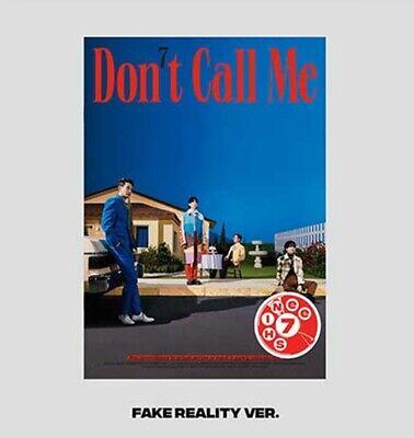 SHINEE 7th Album [Don't Call Me] Photobook Fake Reality Ver. CD+Book+Poster+Card
