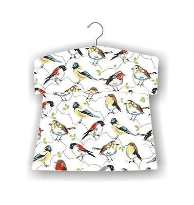 east2eden Birds Design Washing Line Hanging Textile Peg Storage Bag