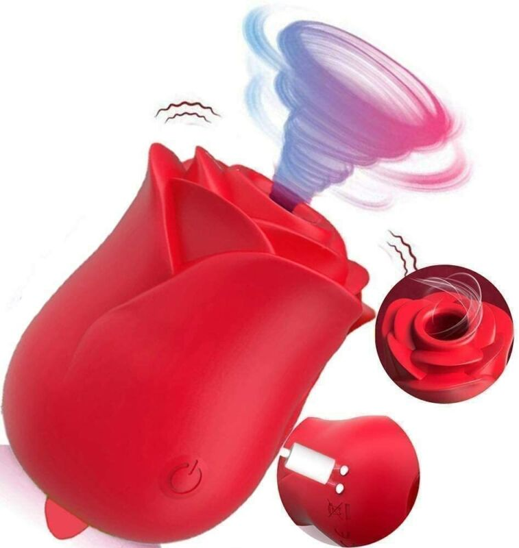 Powerful Rose Massage Cup 7 Speeds, Rechargeable Massager Pain Relief Suck Tools