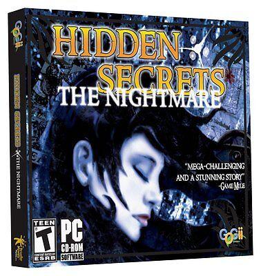Computer Games - Hidden Secrets Nightmare PC Games Windows 10 8 7 XP Computer hidden object seek