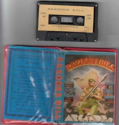 BAZOOKA BILL Commodore 64 e 128 C64 C128 Videogioco