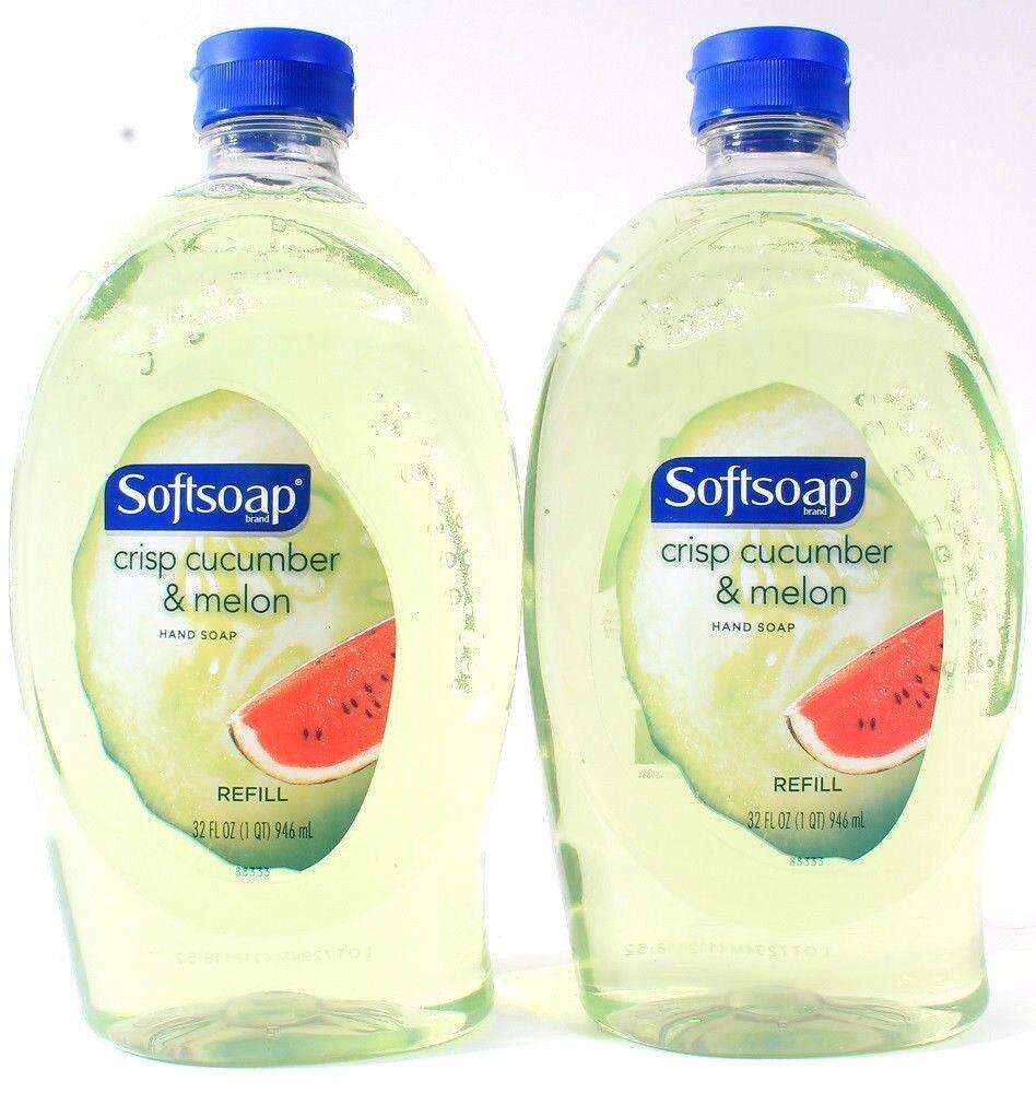 Softsoap Crisp Cucumber & Melon Liquid Hand Soap Refill 32 O