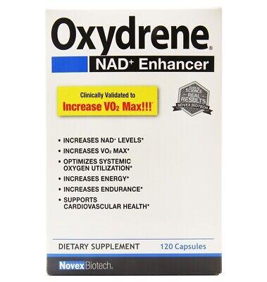 Novex Biotech - Oxydrene NAD + Enhancer - 120 Capsules