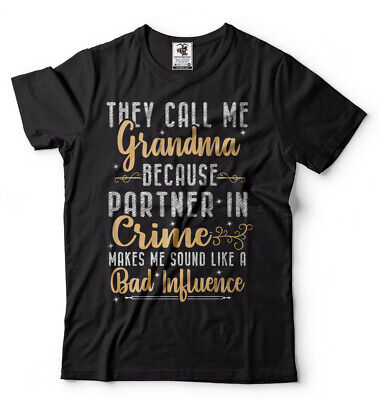 Funny Grandma Gifts (Grandma T-shirt Gift for Grandmother Funny Unisex Shirt Grandmother Birthday)