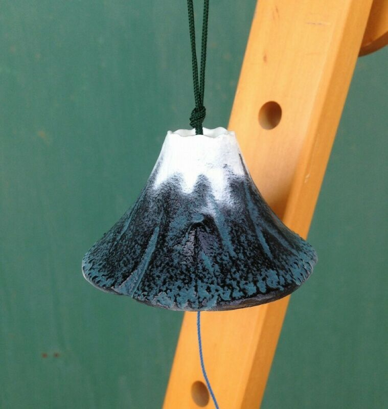 Furin Wind Chime  Bell Nanbu Cast IronHandcraft Mt.Fuji Made in Japan