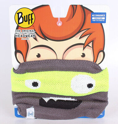 Buff Kinder Knitted&Polar Multifunktionstuch Novy Scary Grey C OneSize