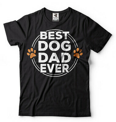 Dog Dad T-shirt Dogfather Shirt Dog Lover Pet T-shirt Mens Gift Fathers day Tee