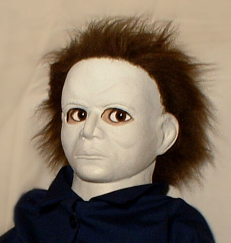 """HAUNTED Halloween Mask Horror doll """"EYES FOLLOW YOU"""" creepy prop house mansion"""