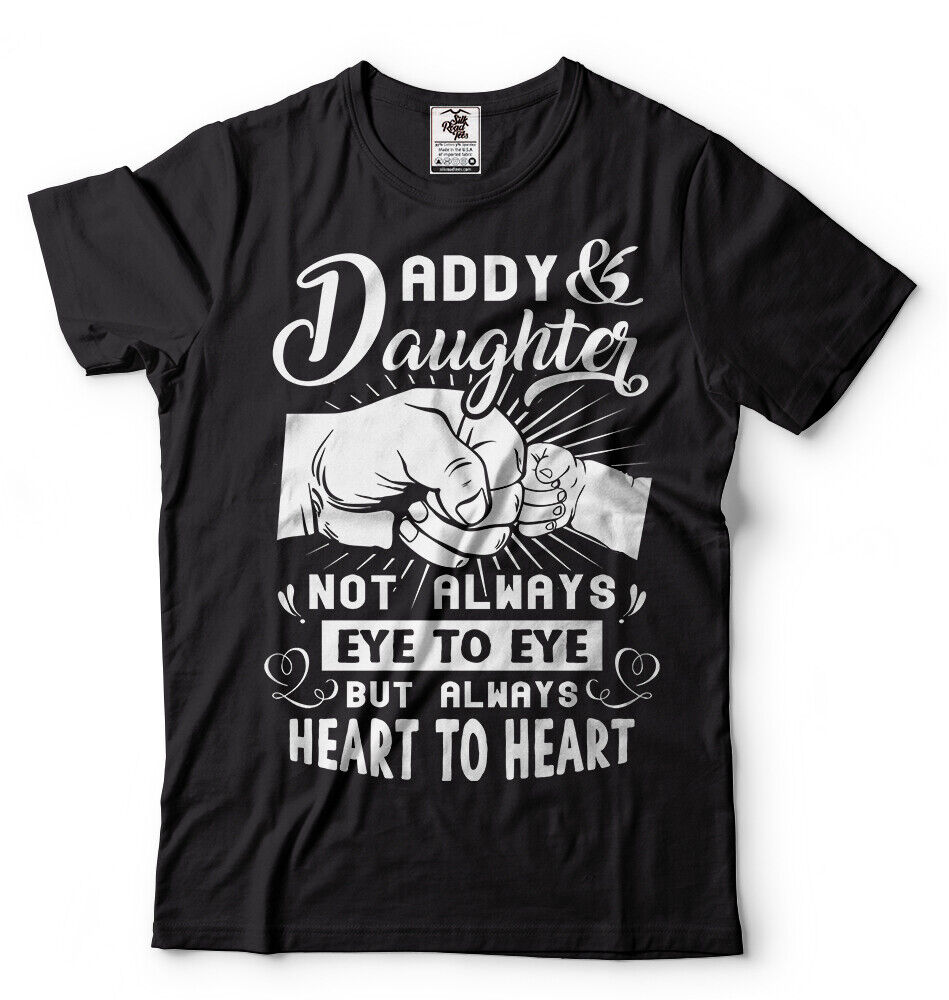 Dad Daughter Mens T-shirt Fathers day Gift Mens Shirt Dad of