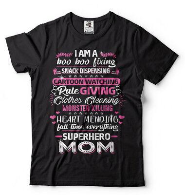 Unique Superhero Gifts (Superhero Mom Mother's Day Gift T-shirt Gift For Mom Unique Gift For Mothers)