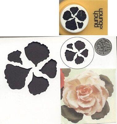 (Medium BEGONIA PETALS Paper Punch x Punch Bunch Scrapbook-Cardmaking-Quilling )