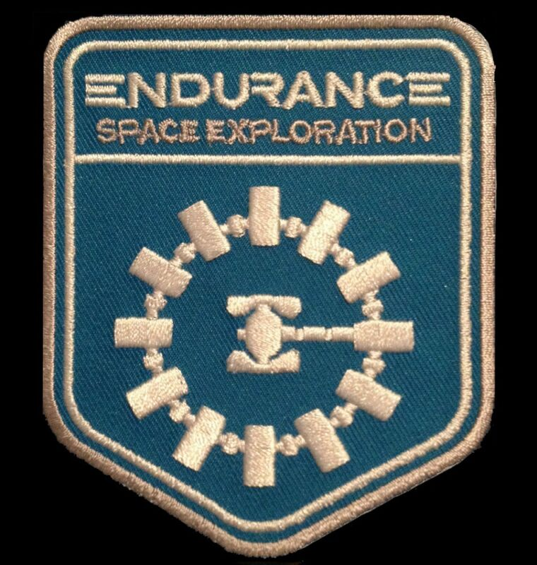 INTERSTELLAR : ENDURANCE SPACE EXPLORATION [High Quality Patch & Free Shipping]