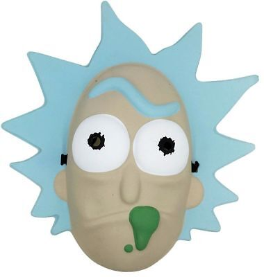 Rick And Morty: Rick Adult Plastic Mask Costume Accessory Comicon Cosplay