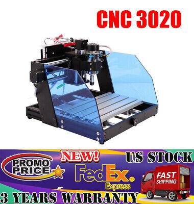 Diy Desktop Engraving Machine Milling Engraver Cnc 3020 Router Metal