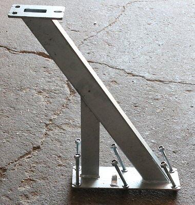 #Halter für Laufsteg Gangway Steg Bootstrailer Boot Anhänger