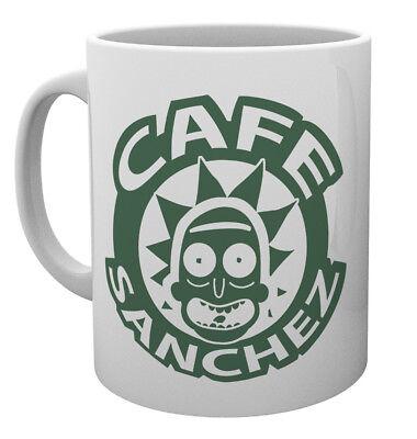Rick and Morty Cafe Sanchez 10oz Drinking Mug Coffee Tea Espresso