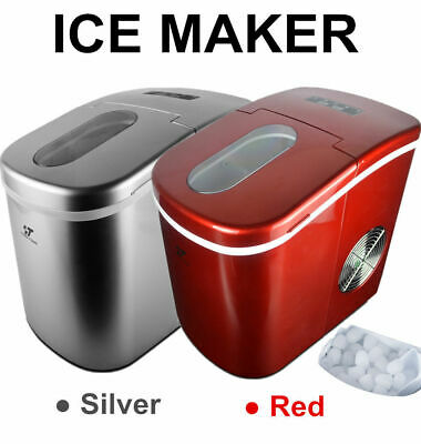 Portable Ice Cube Ice Maker Freestanding Countertop Ice Making Machine 26 Lbday