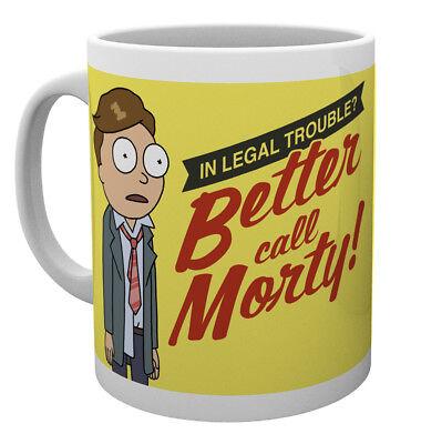 Rick and Morty Better Call Morty 10oz Drinking Mug Coffee Tea Espresso