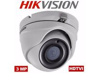 HIKVISION HD TVI 1080P 3.0MP CCTV CAMERA DS-2CE56F7T-ITM 2.8mm FIXED LENS 10-20m