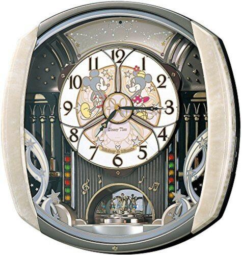 SEIKO Disney Time Automaton Clock FW563A Wall Clock Type light pink marble