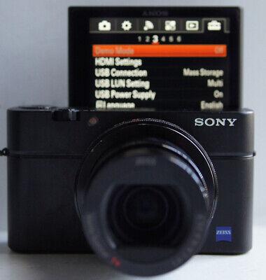 Sony DSC-RX100M3 III 20.1 MP Viewfinder Compact Digital Camera #5