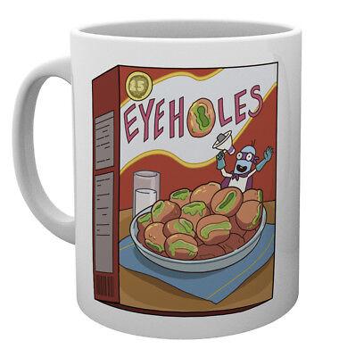 Rick and Morty Eye Holes 10oz Drinking Mug Coffee Tea Espresso