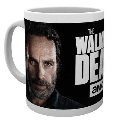 The Walking Dead Rick and Neegan 10oz Drinking Mug Coffee Tea Espresso