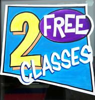 Get Your Fit On With 2 FREE Classes!