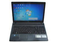 Laptop Notebook Acer Aspire 5250 15.6'' Processor AMD Radeon HD 6250 500GB Hard Windows 10