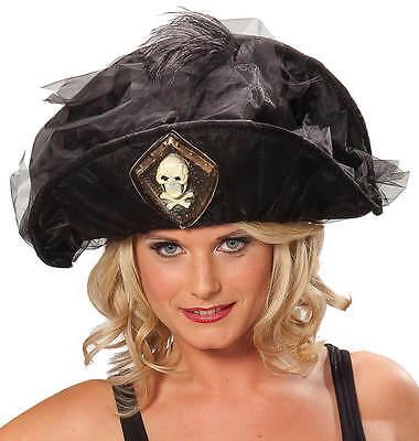 Hut Piratin Piratenhut Pirat Piraten-Hüte Karneval Fasching