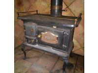 Wood burner stove- Victorian style - STRATFORD N1910