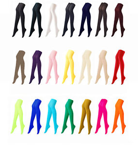 Colorful-Opaque-Pantyhose-Stockings-Tights-80-Denier-Color-Colour