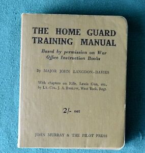 The Home Guard Training Manual - near new condition