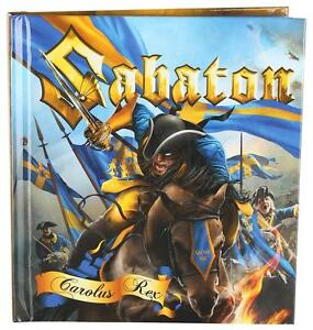 Sabaton - Carolus Rex ltd. 2-CD Digibook NEU