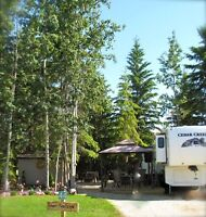 RV Lots For Sale at Lake Wabamun 45 min. west of Edmonton