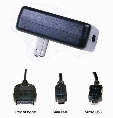 PromasterXtraPower USB Charging Kit Micro/Mini USB + iPhone/iPod #6969