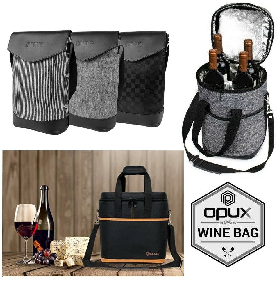 Wine Carrier Bag Insulated 2 3 4 6 Bottle Cooler Protection