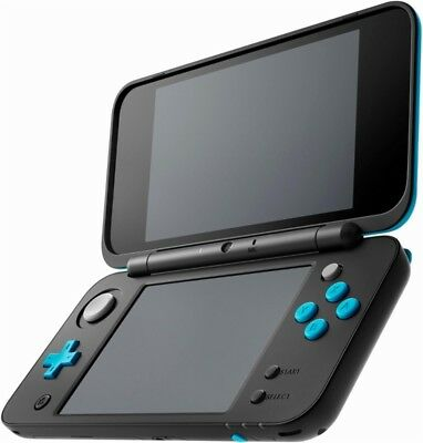 Nintendo 2Ds Xl Black Turquoise Handheld System 2017 New Other