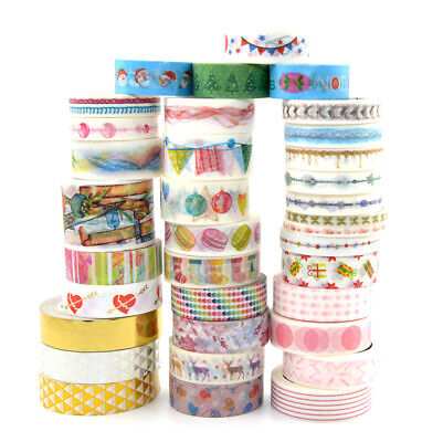Christmas Party collection haul washi tape sticker junk bullet journal planner - Christmas Washi Tape