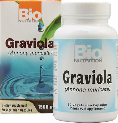 Bionutrition Graviola 60 Capsules   Super Cell Defender For Your Immunity