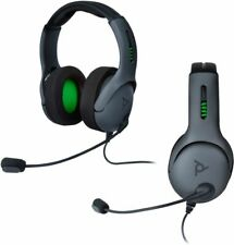 PDP LVL50 Wired Stereo Gaming Headset for Xbox One - Gray/Black