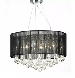 Allana 3-Light Drum Chandelier