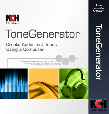Audio Test Tone & Sound Generator Software | Full License | Email Delivery for sale  Shipping to India