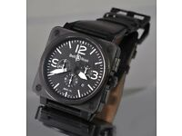 Bell and Ross BR01-94 2007 S.Steel P.V.D Watch, Watch comes with all original paperwork and receipt