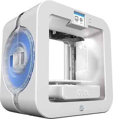 3D Systems Cube 3D Wireless Printer  3Rd Generation  White  Windows And Mac