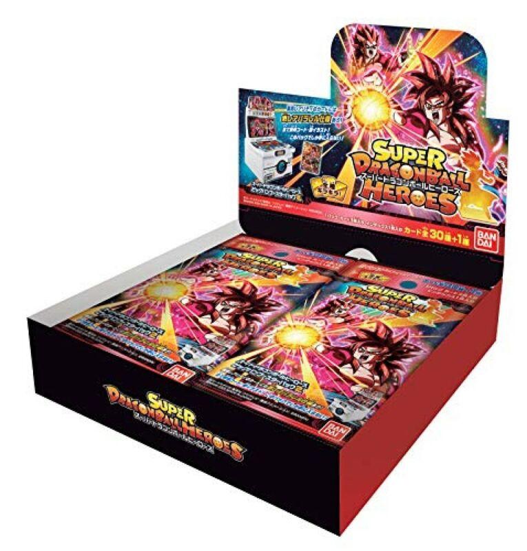 Super Dragon Ball Heroes Card Big Bang Booster Pack vol. 2 (BOX) JAPAN