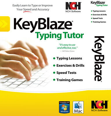 Typing Tutor Software Teaches Typing | Lifetime License | Email Delivery