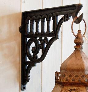 Victorian hanging basket brackets
