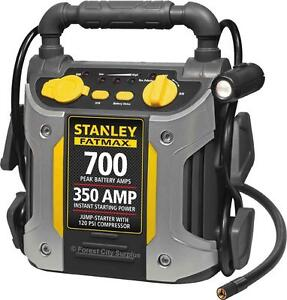 STANLEY J7CS FAXMAX 700 AMP JUMP STARTER WITH COMPRESSOR - GREAT FOR EMERGENCIES and GETTING STARTING IN THE WINTER!