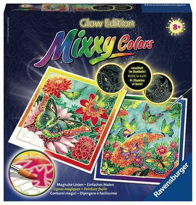 Ravensburger Mixxy Colors Wasserfarben Glow Edition 2er Set Schmetterlinge 29434